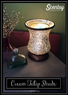 Scentsy warmer Cream Tulip for home or office