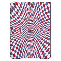 Warping square stylish pattern iPad air covers