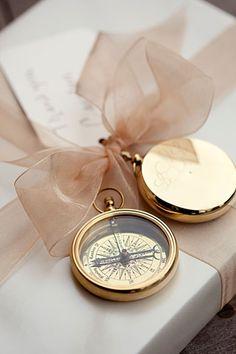 Golden compass accen