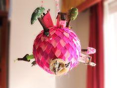 Neon Christmas by CottonAki on Etsy