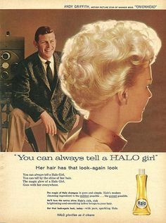 halo girl & andy griffith