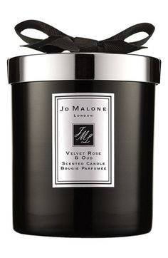 Free shipping and returns on Jo Malone London Jo Malone™ 'Velvet Rose & Oud' Home Candle at Nordstrom.com. Jo Malone Velvet Rose and Oud Home Candle is designed to lift your mood, help you wind down at the end of the day or add an air of luxury to your space. The intense fragrance mixes notes of dark, rich damask rose wrapped with smoky oud wood and spiked with clove.