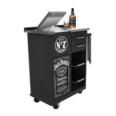 :::OnTap - Jack Daniels Bar Trolley - Details:::