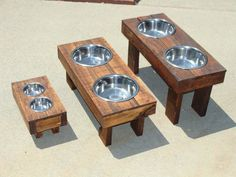 Raised Dog Food Feeders Do-It-Yourself Ideas Recycled Pallets