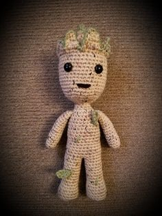 Guardians of the galaxy vol 2 Baby Groot, Crochet Amigurumi