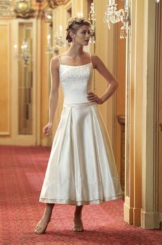 Casual Wedding Dresses For Women Over 50 - http://www ...