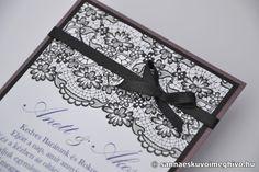 Álarcosbál2 esküvői meghívó, meghívó, csipkés esküvői meghívó, lila esküvői meghívó, szalagos esküvői meghívó, sannaeskuvoimeghivo, egyedi esküvői meghívó, wedding card