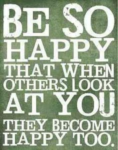 Making others happy adds eternal joy and meaning to your life. Try it! The SQUA.RE Team :)