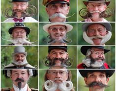 Who's to say guys don't put time and effort into doing their hair?! The 2012 European Beard and Moustache Championships took place in Wittersdorf, France on Sept. 22, 2012. About a hundred participants were on hand to show off their funky facial hair. From wacky mustaches to downright hair-raising looks, check out the best of the 2012 contestants ...
