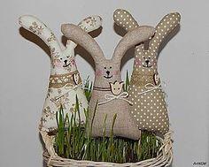 Dekorácie - Zajačiky ušiačiky - 5186178_