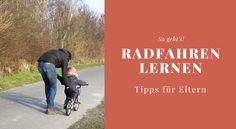 Radfahren lernen ist für Kinder oft nicht leicht. Hier findet man effektive Tipps zum Fahrradfahren lernen sowie Hinweise auf ein geeignetes Kinderfahrrad.