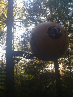 Free Spirit Sphere's in Quallicum Beach on Vancouver Island. I guess it wasn't really camping but it was too cool not to share. Definitely worth the stay, most amazing place I have ever slept in my life.