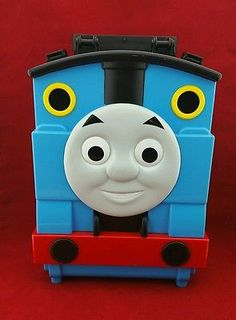 Thomas & Friends Tote A Train Playbox Carry Storage Case Mattel 2009 Mattel