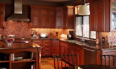 Custom Kitchen Designs | kitchens outdoor kitchens bathrooms fireplaces built ins commercial ...