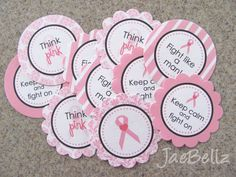 JaeBellz: {FREE Printables} Breast Cancer Awareness Tags