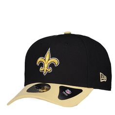 Boné New Era NFL New Orleans Saints 940 Preto Somente na FutFanatics você  compra agora Boné 416a1515c57