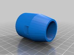 """This is a nozzle for a """"water bottle rocket"""". Will need to be sealed to hold pressure psi max) Fits a Pitsco on the bottom and Water Rocket, Rockets, Hobbies, Water Bottle, Science, Model, Prints, Diy, Bricolage"""