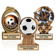 Soccer Sculptures that Stand Out From the Rest. These #Soccer #Awards are Great for Achievers! http://www.crownawards.com/StoreFront/CRBKCI.Soccer.Trophies.Celestial_Insert_Resin_Trophy.prod
