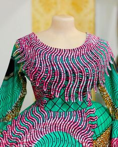 African Dresses For Kids, African Wear Dresses, Latest African Fashion Dresses, African Print Fashion, African Attire, Mode Turban, African Blouses, Ankara Gown Styles, Camisole
