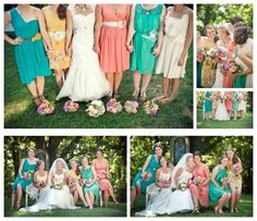 Ashley do u like the new trend of offering bridesmaids different dresses