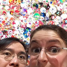 The #WestostCartoonLovers at the Takashi Murakami exhibition in Tokyo - it was mangatastic! #anime  #cartoonfan  #Tokyo #moe #manga #村上隆 #anime #漫画 #cartoongear #WestostCartoonLovers #kaikaikiki #moriartmuseum #roppongi #superflatwonderland #cartoonlove #mangaart #500arhats #mangatshirt #mrdob #murakamiexhibit #murakamitakashi