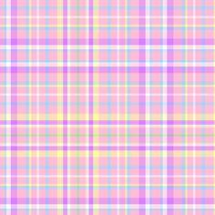 Pink Easter Plaid fabric by mandollyn on Spoonflower - custom fabric