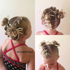 """Bubble ponies into messy buns for dance today. "" Photo taken by @simplystranded on Instagram, pinned via the InstaPin iOS App! http://www.instapinapp.com (10/08/2015)"