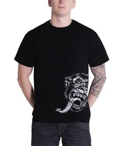 fcaaa46db1b Gas Monkey Garage T Shirt Mens Sidekick Kustom Builds Black - Paradiso  Clothing Culture Clothing