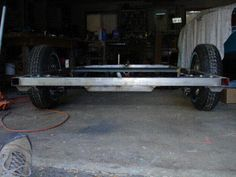 This is a step by step guide on how to build a trailer that is better than factory made trailers. Trailer Awning, Flatbed Trailer, Car Trailer, Utility Trailer, Camper Trailers, Trailer Plans, Trailer Build, Metal Projects, Welding Projects