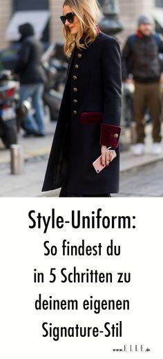 """Signature Style"""" ist einer dieser Ausdrücke, die oft wie selbstverständlich in Zusammenhang mit Modemenschen benutzt werden. Doch was heißt das eigentlich wirklich? Die modischsten Frauen der Welt haben eine ganz eigene """"Uniform"""": Anna Wintour lebt in Tweed-Kostümen und schwarzen Sonnenbrillen, Alexa Chung macht sich den modernen Brit Chic zu eigen und Linda Tol ist die Königin des minimalistischen, androgynen Looks. So sehen sie nicht nur immer modisch aus, sondern müssen sich dabei nicht…"""