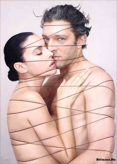 Monica Bellucci and Vincent Cassel by Jean Baptiste Mondino
