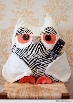 Owl Remote Caddy Tutorial