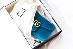 Gucci Marmont Velvet bag #gucci #marmont #velvet #designer #bag