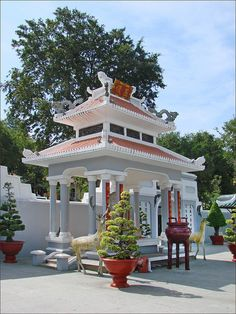 The Mausoleum of Thoai Ngoc Hau - Vinh Tê, Vietnam