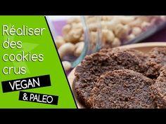 Ces cookies crus sont sans gluten ni produits laitiers, ils sont également très simples et rapides à réaliser. Vous aurez besoin au mieux du déshydrateur.