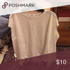 Baby doll dressy T-shirt Comfy, dressy but casual, never worn long T hayden Tops Blouses