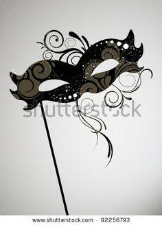stock vector : Carnival Mask