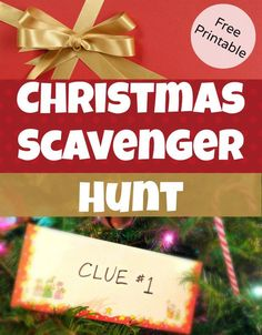 Christmas Scavenger Hunt Clues for hiding Christmas Gifts - great for kids! Free Printable clues to lead kids around the house on a gift hunt, great for surprising kids with big gift ideas Family Christmas, Winter Christmas, Christmas Ideas, Christmas Eve Box For Kids, Merry Christmas, Christmas Printables, Christmas Riddles For Kids, Christmas Activities For Adults, Christmas Crafts For Gifts For Adults