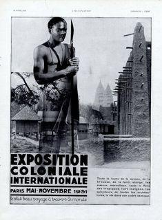 """""""paris exposition coloniale 1931"""""""