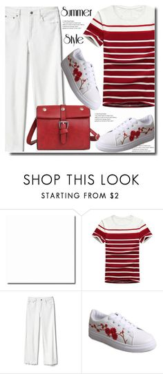 """""""Summer style"""" by soks ❤ liked on Polyvore featuring Gap"""