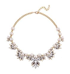 FAUX PEARL RHINESTONE NECKLACE Reference:  A15051032