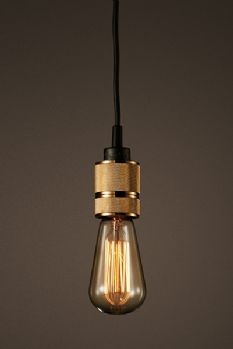 Hooked 1.0 Nude Ceiling Pendant Light  by Buster + Punch