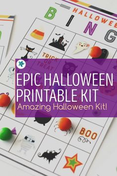 Use this epic Halloween kit over and over for years to come. It's got everything you need to help your kids stay busy, have fun, make great memories...and you get to be the rock star mom who makes it happen. Get yours today! #Halloween #HalloweenPrintables #BingoGame #HalloweenIdeas #HalloweenKits #LDSprimary Halloween Scavenger Hunt, Halloween Bingo, Halloween Class Party, Halloween This Year, Lds Primary, Primary Music, Fun Ideas, Party Ideas, Hosting Thanksgiving