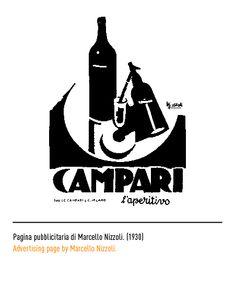 Marchio Campari - Pagina pubblicitaria di Marcello Nizzoli 1930
