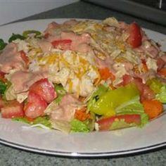 #recipe #food #cooking Santa Fe Chicken Salad