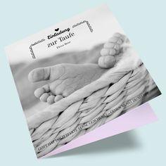 Taufkarten bestellen und gestalten - Taufeinladung Neugier