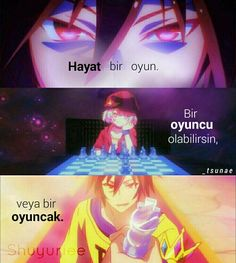 Anime: No Game No Life : quotes wich fits life Manga Anime, Me Anime, I Love Anime, Sad Anime Quotes, Manga Quotes, Otaku, Game No Life, Game Quotes, Fan Art