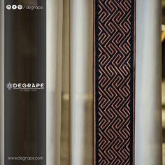 Hem zarif hem iddialı bordür modellerimiz için sizleri de Alsancak'taki mağazamıza, MTK'daki depomuza ve tüm seçkin bayilerimize bekleriz...  #perde #degrape #bordür #izmir #istanbul #curtain #upholstery #textile #design #interiordesign #elegant #border Istanbul, Curtains, Elegant, Home Decor, Classy, Blinds, Decoration Home, Room Decor, Draping