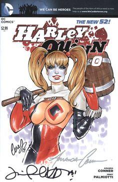 Harley Quinn by Elias Chatzoudis *