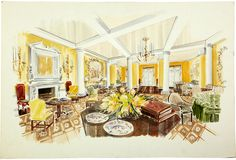 The Ritz-Carlton Presentation Drawing I on One Kings Lane today